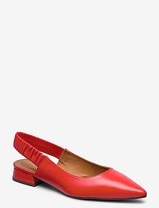 Shoes 4512 - sling backs - coral 6256 nappa 77