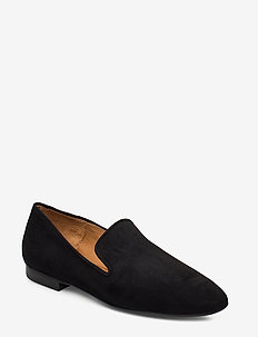 Shoes 4521 - loafers - black suede 50