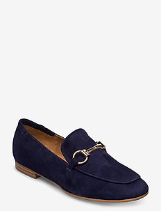 Shoes 4527 - loafers - navy suede/gold 512