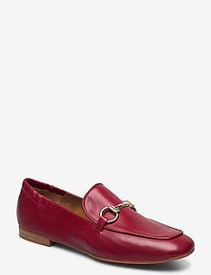 Shoes 4527 - loafers - red calf 89