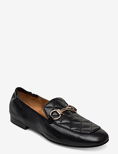 Shoes 4528 - loaferit - black nappa/gold 702