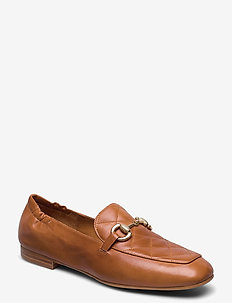 Shoes 4528 - loafers - cuoio calf/gold 852