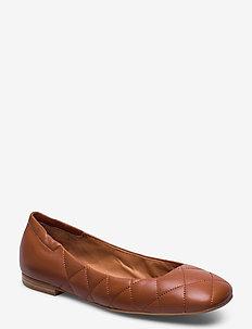 Shoes 4529 - ballerinas - tan 9895 nappa 76