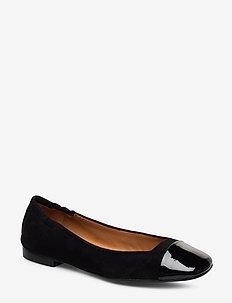 Shoes 4531 - BLACK PATENT/BLACK SUEDE 950