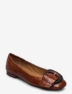 Shoes 4533 - ballerinaer - cognac monterrey 25