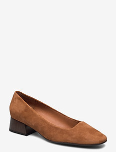 Pumps 4543 - klassiske pumps - cognac 637 suede 55