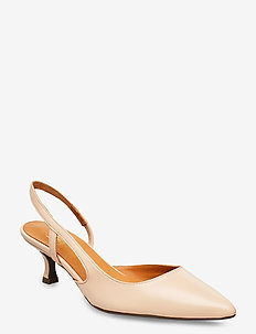 Pumps 4572 - sling backs - light rose 3484 nappa 778