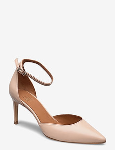 Pumps 4596 - klassiske pumps - beige 3484 nappa 72