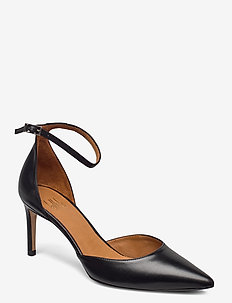 Pumps 4596 - klassiske pumps - black calf 80