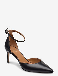 Pumps 4596 - klassiske pumps - black nappa 70
