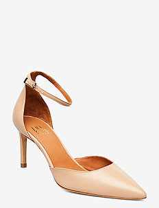 Pumps 4596 - klassiske pumps - nude 5845 nappa 78