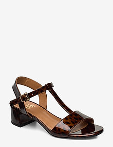 Sandals 4606 - heeled sandals - coated leo 942