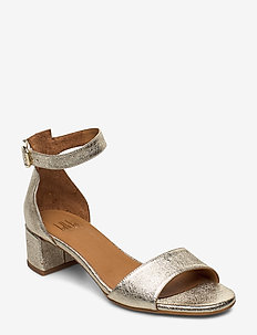 Sandals 4607 - korolliset sandaalit - metal gold no5 002