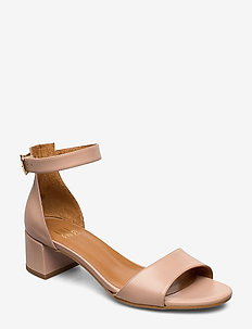 Sandals 4607 - høyhælte sandaler - rose cipria calf 88