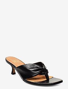 Sandals 4614 - mules & slipins - black nappa 70