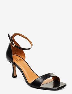 Sandals 4623 - BLACK CALF 80