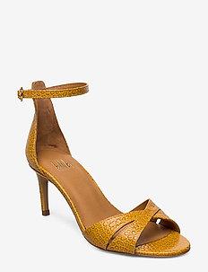 Sandals 4628 - højhælede sandaler - papaya yango 16