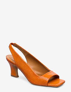 Sandals 4636 - ORANGE 11214 LIZARD 370