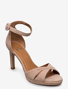 Sandals 4677 - højhælede sandaler - rose suede 58