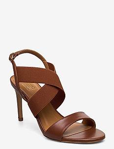 Sandals 4691 - høyhælte sandaler - cuero calf/elast. 85