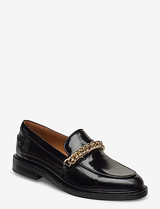 Shoes 4710 - loaferit - black polido/gold  900