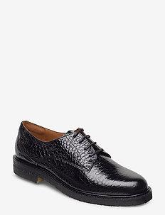 Shoes 4717 - laced shoes - black yango 10