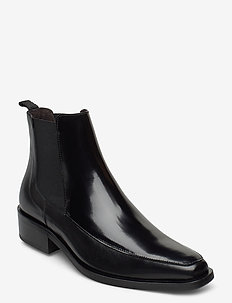 Shoes 4731 - chelsea boots - black calf/black polido 890