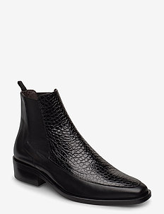 Shoes 4731 - chelsea boots - black calf/black yango 810