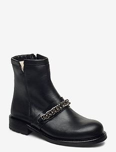 Boots 4799 - flat ankle boots - black tomcat/silver 803