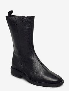 Boots 4819 - flate ankelstøvletter - black buffalo 800