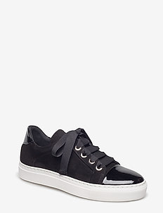 Sport 4825 - low top sneakers - bl. patent/bl.sue./wh.sole 240