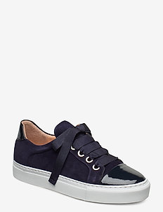 Sport 4825 - low top sneakers - navy patent/suede 251