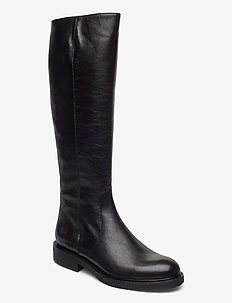 Long Boots 4854 - lange laarzen - black calf 80