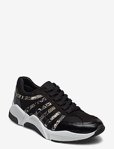 Sport 4860 - lave sneakers - black/snake comb. 943