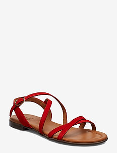 SANDALS - SUMMER RED 1577 SUEDE 57