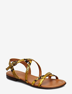 SANDALS - YELLOW 833 SNAKE 35