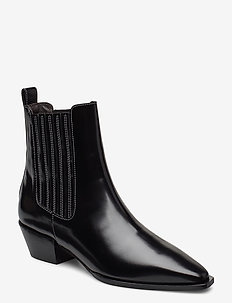 Boots 4922 - ankle boots with heel - black polido  900