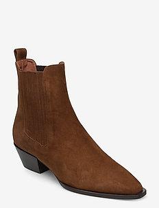 Boots 4922 - chelsea boots - cognac 976 suede 55
