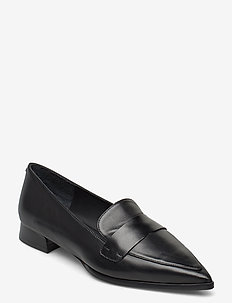 Shoes 5001 - loafers - black calf 80