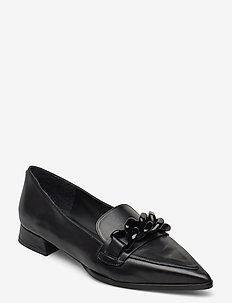 Shoes 5004 - loafers - black calf 80