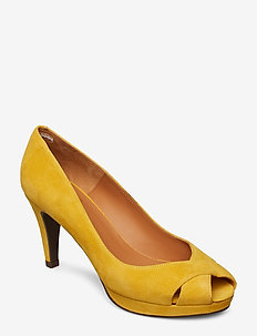 Pump - YELLOW 1795 SUEDE 55