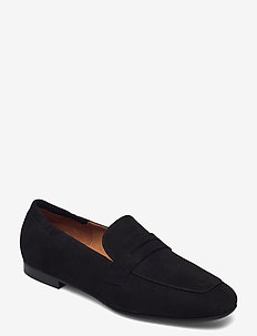 Shoes 54525 - loafers - black suede 50