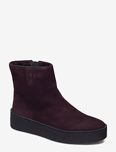 Warm lining 5831 - PRUGNA SUEDE/BLACK SOLE  588