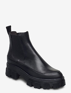 Boots 6061 - chelsea boots - bl.rubber/black calf 80