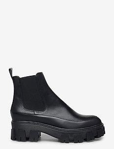 Boots 6061 - skor - bl.rubber/black calf 80