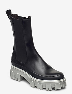 Boots 6062 - chelsea boots - bl.rubber/varm grey sole 803