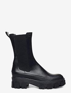 Boots 6062 - schuhe - bl.rubber/black calf 80