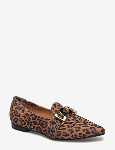 Shoes 6508 - LEOPARDO SUEDE/GOLD 540