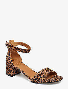 SANDALS - heeled sandals - leopardo animal print 540