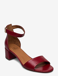 SANDALS - høyhælte sandaler - red calf 89